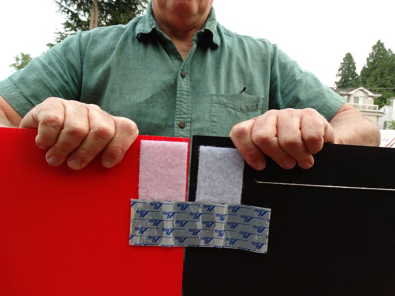 Uppershell Screen Joining sheets with hook tape